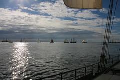 spotted light (Jensje) Tags: netherlands klipperrace 2016 clipper race sailing ijsselmeer wind white light segeln