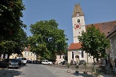 Nahe der Kirche in Spitz