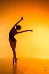Ballerina (pyrospawn) Tags: ballet glow warm sun sonya7ii dance sonyfe2470mmf4zaoss viktory orange ballerina viktoria