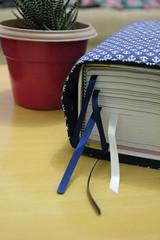 Porta-Livros 'Ancora' (Azul) (Bella Mia Ateliê) Tags: portalivros livros papelaria feitoàmão encomendas produtosforadesérie elo7