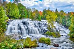 Bond Falls:  At The Bottom (J Henry G) Tags: bondfalls flickr upmichigan waterfalls fall color rivers watersmeet michigan nature johnhenrygremmer
