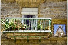 El Balcón de la Virgen.The Balcony of the Virgin (ironde) Tags: cádiz cadiz cadix andalucía andalusia andalousie spain españa balcón balcony virgen virgin