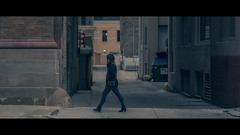 Focused (R*Wozniak) Tags: cinematicphotography alleyways women heels beautiful 16x9 105mm nikond750 nikon cinematic candid city anamorphic widescreen streetportrait street color graded