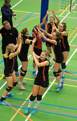 1B260454 (roel.ubels) Tags: vv utrecht eurosped galgewaard volleybal volleyball 18 finale nationale beker