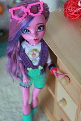 IMG_1859 (Cleo6666) Tags: monsterhigh monster high kjersti trollson mattel ooak repaint doll custom