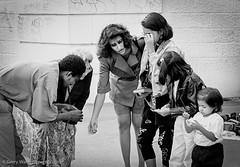 Mothers Help (gwpics) Tags: france montmartre french outside people children streetphotography mono family europe film paris blackwhite blackandwhite child exterior kid kids monochrome outdoor person socialcomment socialdocumentary society strasenfotograpfie bw lifestyle streetpics