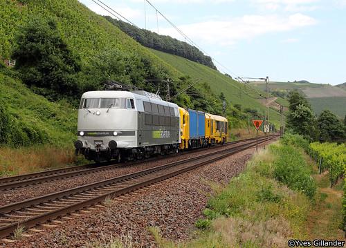 Railadventure 103 222, Kanzem 28.08.2016