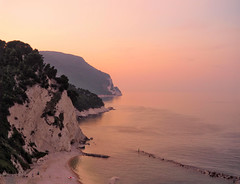sunset at the sea (Gabriele Sesana) Tags: mare sea tramonto marche sunset