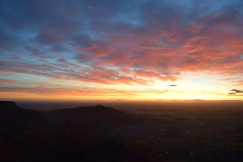 Sutton Bank Sunset
