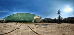 MUAC (Lizardi Saucedo) Tags: ifttt 500px mexico sky blue museum muac cu sun sunlight skyscraper skyline sculpture art