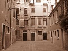 Venice, Italy VIIII (RoccerSoccerDave) Tags: italy venice sepia canon sx220hs street powershot