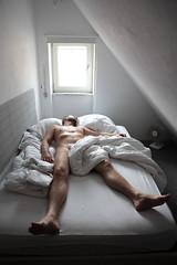mp_42 (Franz-Rudolph) Tags: hairy man detail nude beard bed bett sleep bart nackt mann schlafen voll haarig