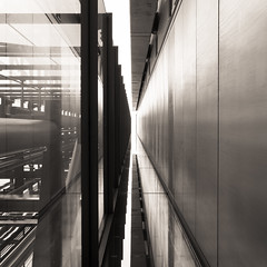 iter (thernaut) Tags: architecture vanishingpoint squareformat x100s