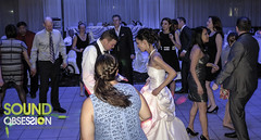 """Bride & Groom Getting Down @ The Oakville Conference Centre • <a style=""""font-size:0.8em;"""" href=""""http://www.flickr.com/photos/41131855@N05/14002328709/"""" target=""""_blank"""">View on Flickr</a>"""