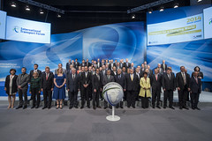 Transport Ministers pose for the 2014 family photo
