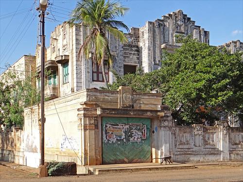 Maison art déco-indien de Kanadukathan (Inde)