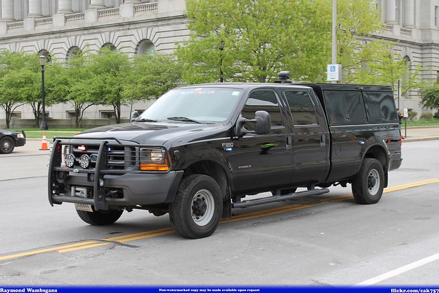 ford memorial peace bureau cleveland police parade federal fbi f350 investigation officers 2014