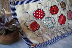 jogo americano (Slua S.) Tags: cores artesanato fabric manual patchwork decorao jogo cozinha trabalho suculenta americano tecido