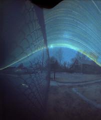 Fence line - 6-21-14 (Void2009) Tags: denver pinhole solargraphy
