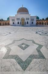 Bourguiba Mausoleum,Tunisia (Milcho Katsarski Photography) Tags: africa architecture buildings star tunisia religion monastery mausoleum foreground monastir bourguiba