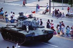 The Persian Gulf War George Bush Snr Iraq Victory Parade Philadelphia 1991 011 Tank (photographer695) Tags: philadelphia persian george bush war gulf iraq victory parade 1991 the snr