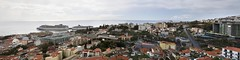 Panorama of Funchal (Khraym The Cheetah) Tags: road city trees panorama building tree portugal buildings panoramic housing madeira funchal 2014