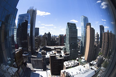 Manhattan Fisheye (Bill in DC) Tags: nyc newyorkcity fisheye hotels ihc 2014 eos5d3 intercontinentaltimessquare