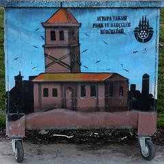neeli pler-9 (zeynepyil) Tags: art garbage istanbul sanat p