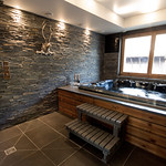 Hot Tub at The Ark - More Mountain Luxury Chalet in Morzine