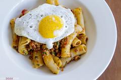 IMG_0719 (huyness) Tags: food duck salad italian egg pasta pork foodie rigatoni ragu
