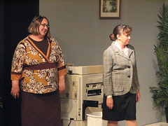 new girl (Starshyne09) Tags: theater musical acting 9to5 fatgirl 9to5themusical altonlittletheater