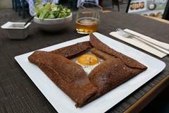 Paris schmeckt (Vanilla55555) Tags: au egg fried plat galette spiegelei uf