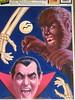 Monster window clings (Donald Deveau) Tags: halloween werewolf vampire dracula decal wolfman monstermovie windowcling