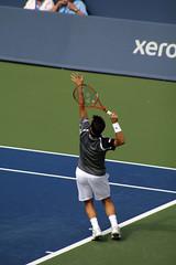 Stan Wawrinka Serve (BenG94) Tags: ohio switzerland cincinnati tennis serve 2014 stanwawrinka westernsouthernopen