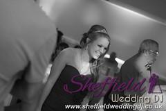 Andrew & Lauren McCambridge - Hellaby Hall - Black & White  Wedding Photos by Sheffield Wedding DJ 050