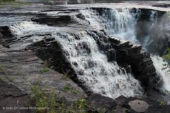 Where The Water Falls (Sean O'Connor Photography) Tags: ontario canada nature canon bay waterfall waterfalls thunder kakabeka