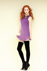 Lily Cole (Vampyre74) Tags: socks model actress overknee lilycole