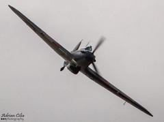 Private --- Hawker Hurricane Mk2A --- F-AZXR (Drinu C) Tags: plane private aircraft military sony hurricane duxford dsc hawker qfo flyinglegends egsu mk2a hx100v imperialwarmuseums adrianciliaphotography fazxr