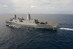 140719-N-FN215-154 (SurfaceWarriors) Tags: heritage america liberty freedom commerce unitedstates military navy sailors fast pacificocean anchorage worldwide eod xs tradition usnavy atsea protect deployed flexible onwatch beready defendfreedom rimpac uspacom warfighters nmcs chinfo sealanes rimofthepacific warfighting lpd23 preservepeace deteraggression operateforward warfightingfirst navymediacontentservice rimpac2014