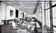 Middleton Tower holiday camp, Sun lounge (trainsandstuff) Tags: vintage retro archival morecambe pontins holidaycamp middletontower fredpontin