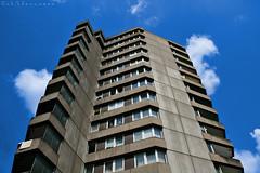 ein bayreuther Hochhaus (Ingo R) Tags: city building himmel wolken stadt highrise gebäude hochhaus