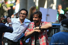 Saif Ali Khan, Phantom, Vancouver, Canada, August 7, 2014  31 (Nigel Horsley) Tags: canada saifalikhan 2014 august7 filmingphantominvancouver