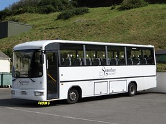 Signature 11 (Coco the Jerzee Busman) Tags: uk bus islands signature cannon toyota jersey coaster channel caetano coaches optimo lcb