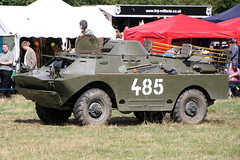 BRDM-2rkh OFL294J/385 (NTG's pictures) Tags: army czech military trust vehicle fighting society tanks alvis brdm2rkh ofl294j385 trucksandfirepowershow2014
