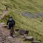 Cycling on Cwm Cynwyn thumbnail