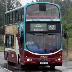 Edinburgh (Andrew Stopford) Tags: eclipse volvo wright lothianbuses straiton b7tl thepenycog transportforedinburgh sn56afx