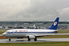 Boeing 737 EW-407PA Belavia (Jarco Hage) Tags: germany airplane am europa frankfurt aircraft aviation main duitsland boeing737 eddf belavia byjarcohage ew407pa
