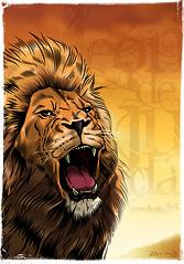 Leon de Juda (El Moncho2012) Tags: de arte león judea ilustración