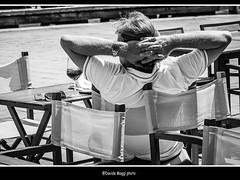 free time (magicoda) Tags: street venice people blackandwhite bw italy white man glass relax glasses see nikon italia foto sleep candid watch curioso tourist bn persone uomo voyeur fotografia dslr freetime venezia orologio dormire biancoenero aperitivo bicchiere turisti spritz occhiali turista pausa 2014 veneto d300 vedere turists tempolibero blackwhitephotos turiste streetphotografy magicoda davidemaggi maggidavide