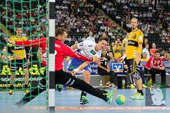 "DKB DHL15 Rhein-Neckar-Löwen vs. HSV Handball 06.09.2014 105.jpg • <a style=""font-size:0.8em;"" href=""http://www.flickr.com/photos/64442770@N03/14982699050/"" target=""_blank"">View on Flickr</a>"